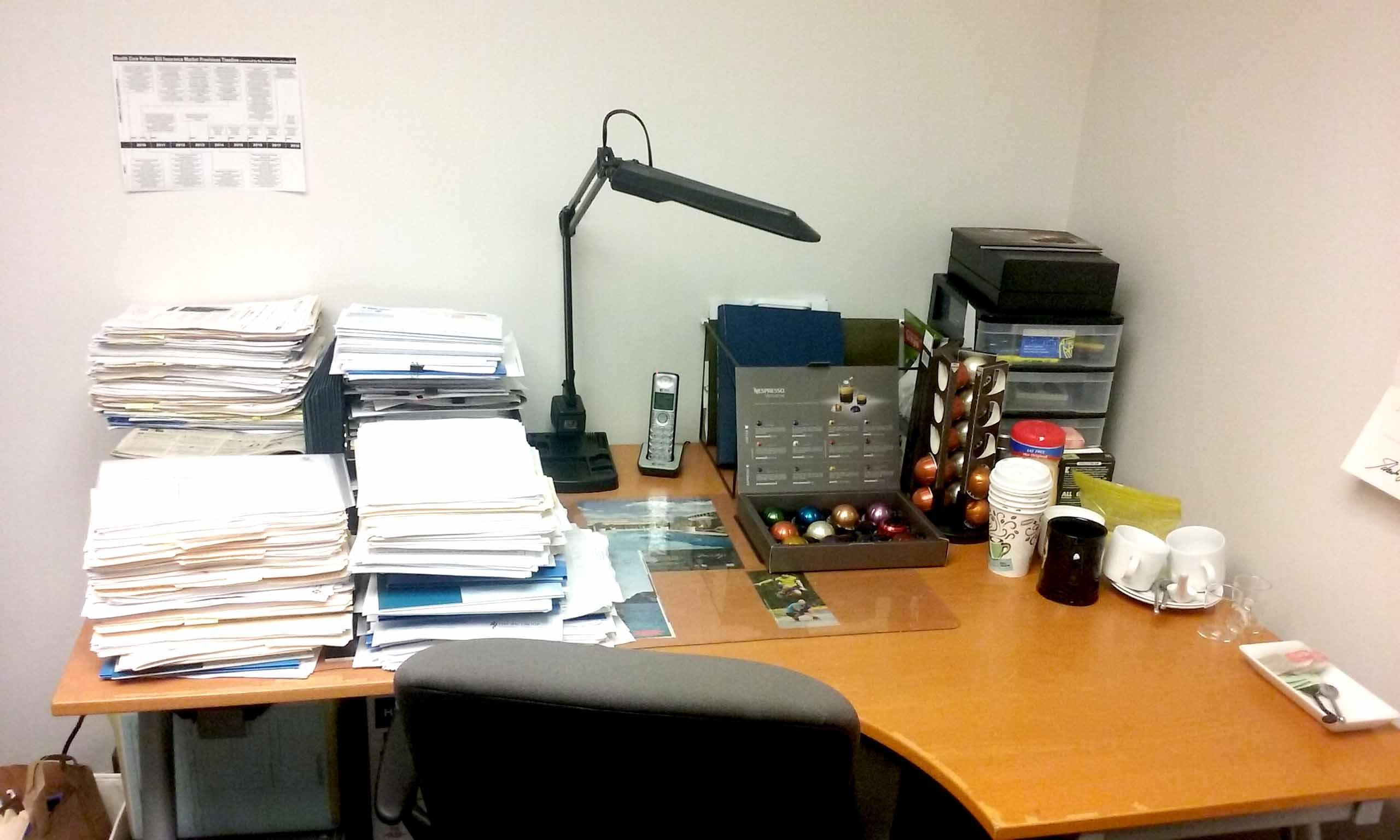 deskwork